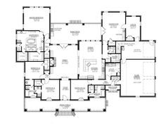 I think I found my dream house plan! I LOVE house design decorating before and after designs decorating The Plan, How To Plan, Dream House Plans, House Floor Plans, My Dream Home, Garage Plans, Car Garage, Garage Doors, Apartment Plans