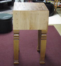 How to Build a Butcher Block Table Maple Butcher Block, Butcher Block Tables, Block Plan, Wood Plans, Diy Arts And Crafts, Diy Woodworking, Home Projects, Tiny House, Restoration