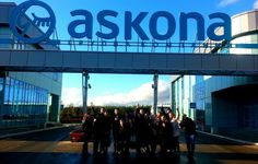 "With my frends, Interesting excursion from ""Askona"""