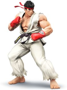 Ryu, the king of Street Fights, joins Smash Bros!