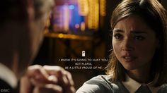 In Face the Raven she faced her own fears, accepting her death in a typically heroic fashion. And so for helping Rigsy, her final orders to the Doctor and such bravery as she walked to her death, we put this episode number one in our countdown of Clara's most heroic moments!