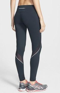 Zella Zella 'Perfect Run' Running Tights available at Cute Athletic Outfits, Cute Gym Outfits, Athletic Wear, Sport Outfits, Designer Leggings, Workout Attire, Workout Wear, Workout Style, Workout Outfits