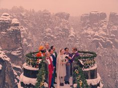The Grand Budapest Hotel wedding.