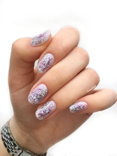 Abstract Nail Art, Glitter, Photo And Video, Nails, Beauty, Instagram, Finger Nails, Ongles, Beauty Illustration