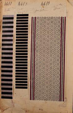 French textiles Paris 1863