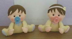 Bebê de feltro