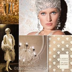 Vintage Chic: Great Gatsby Themed Party Ideas