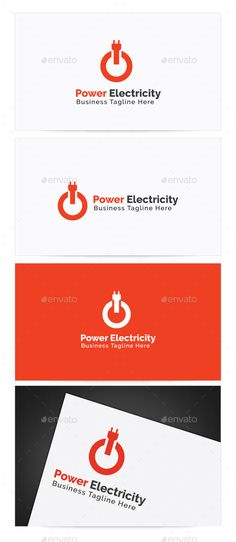 Power Electricity - Logo Design Template Vector #logotype Download it here: http://graphicriver.net/item/power-electricity-logo/9700771?s_rank=1213?ref=nexion