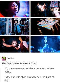 The Get Down, Dizzee Kipling, Thor, Thizzee