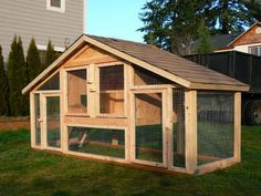 Building your own backyard chicken coop will provide you with a constant supply of organic eggs. Find your chicken coop designs and plans and start your project today. Cheap Chicken Coops, Chicken Coup, Backyard Chicken Coops, Chicken Coop Plans, Building A Chicken Coop, Chicken Runs, Chickens Backyard, Chicken Coop Designs, Keeping Chickens