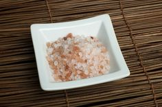 Himalayan Pink Salt  Take a bath to relax the body, stimulate circulation, sooth sore muscles, and remove toxins. Himalayan Salt is known to assist with relief from arthritis, skin rashes, wounds, and flu and fever symptoms