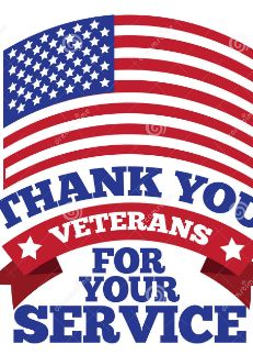 Photo about Veterans day greeting card american flag grunge background. Image of banner, holiday, thank - 49856778