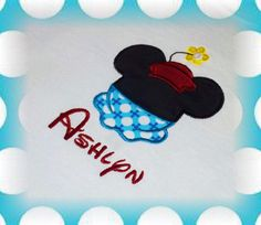 Be UNIQUE   Vintage Minnie Mouse Shirt Personalized  by 4mybaby, $20.00