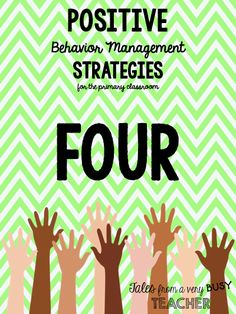 Classroom/behavior management is one of the most important things to master in your classroom. Having solid behavior management helps m...