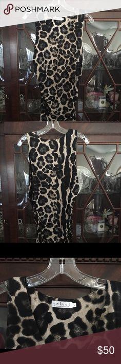 Woman's top Cheetah print tank top Graham and Spencer Tops Tank Tops