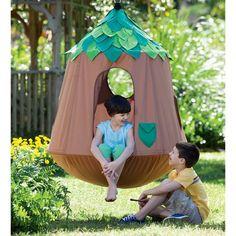 Kids Hanging Chair, Hanging Tent, Hanging Chairs, Outdoor Toys, Outdoor Play, Indoor Outdoor, Indoor Hammock, Hammocks, Backyard Hammock