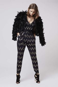 Photo 2 of Zig Zag Strappy Jumpsuit