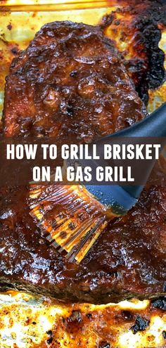 How to Grill Brisket - on a gas grill - Foodtastic Mom,[post_tags How To Cook Brisket, Beef Brisket Recipes, Corned Beef Brisket, How To Cook Beef, Bbq Beef, Smoked Brisket, Grilling Recipes, Meat Recipes, Cooking Recipes