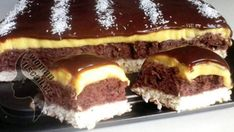 1-38 Romanian Food, Sweet Recipes, Food To Make, Sweet Tooth, Cheesecake, Food And Drink, Sweets, Homemade, Baking