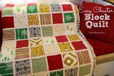 Easy Cheater Block Quilt