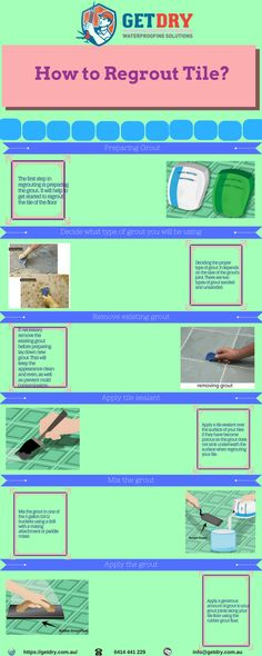 #Regrouting tile is an important thing to every home owner. It helps to avoid dampness of wall and floor. Here you can find some #steps to regrout tile.