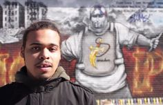 Chris Rivers son of deceased and loved rapper Big Pun.  ....No doubt hes doin' dad PROUD,  kid has insane skill!