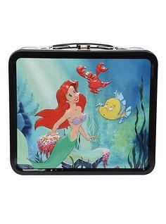 Disney The Little Mermaid Tin Lunch Box | Hot Topic
