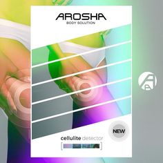 NEW...CELLULITE DETECTOR FROM AROSHA!!! The real professional method to detect and classify cellulite. AROSHA's patented contact thermography system allows the professional to detect and classify the thermal signs of cellulite on local treatment areas which require greater attention and intensity as well as show clients the need to undergo a treatment via an objective system.  Arosha's Cellulite Detector for a successful pre-treatment consultation!  #massage #beauty #cellulite #circulation…