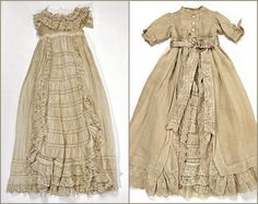 christening ensemble #3, ca. 1880 ... photo courtesy the Metropolitian Museum of Art costume collection