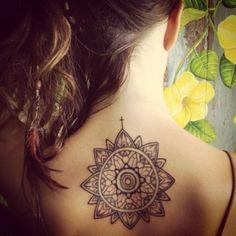 http://tattoo-ideas.us/wp-content/uploads/2013/12/medallion-inspired-back-tattoo.jpg Medallion Inspired Back Tattoo #Yourtattoos http://tattoo-ideas.us/back-tattoos/