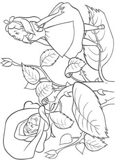 Alice 13 coloring page. If you are crazy about coloring sheets, you will love this Alice 13 coloring page! Get them for free in Alice in Wonderland . Coloring Sheets For Kids, Disney Coloring Pages, Coloring Book Pages, Printable Coloring Pages, Kids Coloring, Free Coloring, Wonderland Party, Alice In Wonderland, Disney Colors