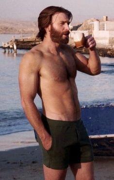 Chris Evans Bart, Christopher Evans, Robert Evans, Chris Evans Captain America, Beard And Mustache Styles, Beard Styles For Men, Beard Fade, Men Beard, Man With Beard