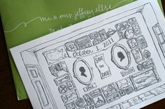 awesome illustrated letterpress