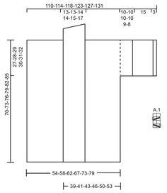 Saltwater - Gestrickte DROPS Jacke in �Brushed Alpaca Silk� mit angestrickten �rmeln, Lochmuster und Schalkragen. Gr��e S - XXXL. - Free pattern by DROPS Design