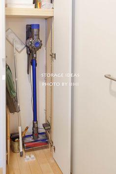 結露が消えたこと!奥行浅い収納が大活躍♪_リノベ後の暮らし@船橋Sさんの家   いいひブログ - いいひ住まいの設計舎 #浅い収納棚がグッド #リビングに掃除機収納に内部コンセントはいい