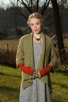 NobleKnits.com - Army of Knitters Olivebridge Cardigan Knitting Pattern, $7.95…
