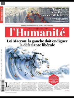 Lhumanite du mercredi 10 decembre 2014