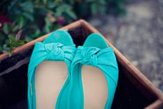 love this pair #turquoise #wedding #shoes