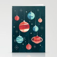 Joy to the Universe (in Teal) Stationery Cards by littleclyde - Set of 3 Folded Cards x Teal Throw Blanket, Throw Blankets, Teal Art, Teal Bedding, Fine Art Prints, Canvas Prints, Universe Art, Fold Envelope, Folded Cards