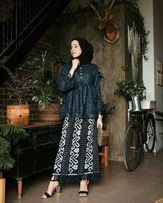 Model Kebaya Brokat Modern, Kebaya Modern Hijab, Kebaya Hijab, Batik Kebaya, Kebaya Dress, Batik Dress, Model Kebaya Modern Muslim, Dress Brokat Muslim, Kebaya Muslim