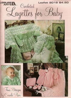 Crocheted Layettes fo Baby  Booklet by RecycleandRepurpose on Etsy, $3.00
