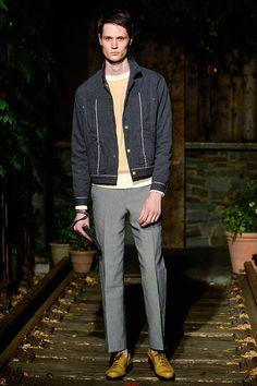 Billy Reid Colección primavera verano 2014 New York Fashion Week.