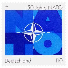 Effert (Paul, DE) 1999 50 Jahre Nato (Deutsche Bundespost) Briefmarke | Flickr - Photo Sharing!
