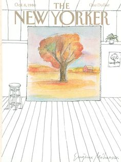 The New Yorker - Monday, October 6, 1980 - Issue # 2903 - Vol. 56 - N° 33 - Cover by : Eugène Mihaesco
