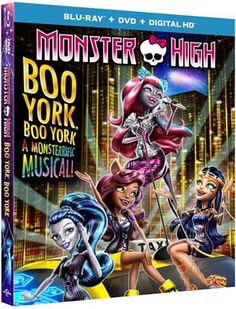 Monster High Boo York, Boo York Blu-ray Sweepstakes | Daddy Forever dad blog