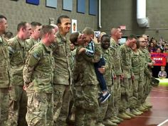 3 Year Old makes his military Mom disobey orders. They hadn't hugged in 9 months. /;)