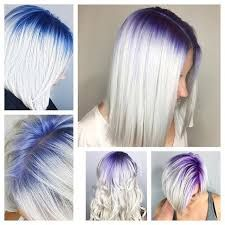 Image result for purple ombre hair