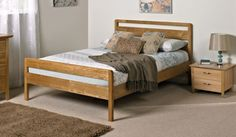 Double Bedstead Pienza Ash Bed Frame £132
