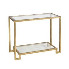 Lyle Gold Leafed Console - Worlds Away - $1,123.00 - domino.com
