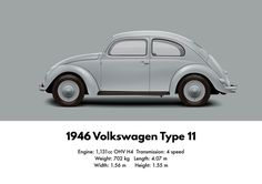 1946 VW Volkswagen Type 11